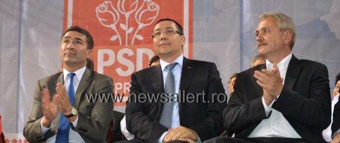 Rovana Plumb și Liviu Dragnea, turneu electoral la conferința județeană de alegeri a PSD Neamț