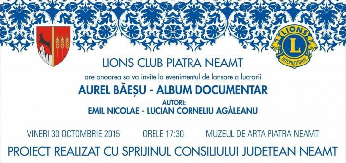 Album documentar Aurel Băeșu