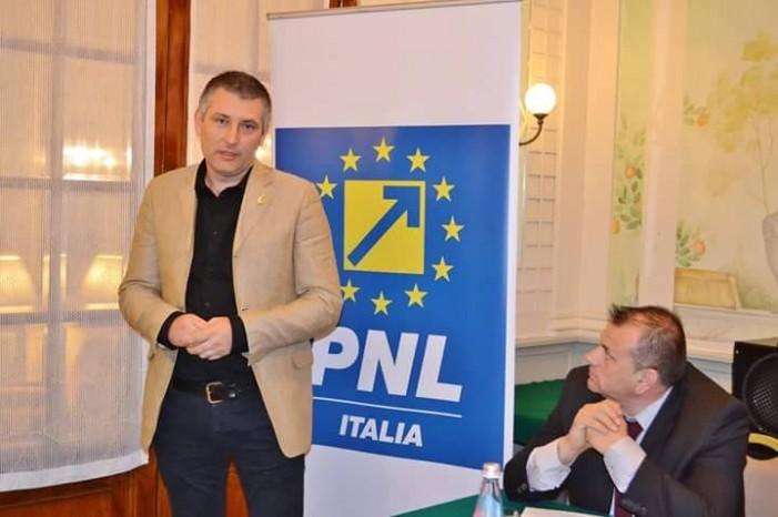 """Pietreanul Adrian Chifu a demisionat din funcția de preşedinte al PNL Italia. """"Îmi doream o analiză serioasă după dezastrul de la parlamentare!"""""""