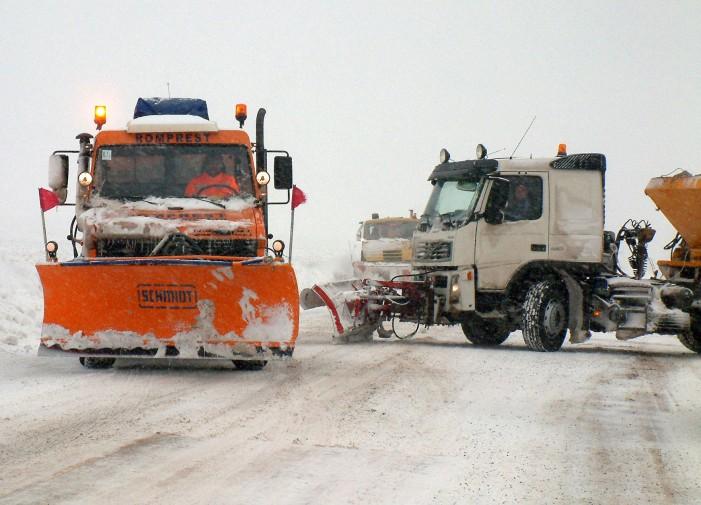 LUNI DIMINEAȚĂ Drumul național Piatra Neamț – Roman a fost redeschis circulației rutiere!