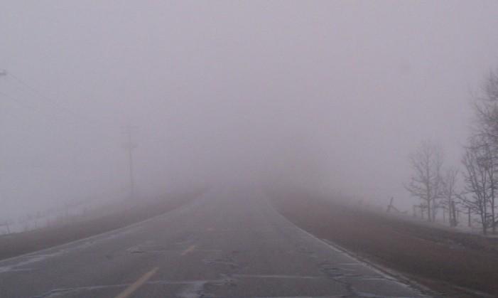 Cod galben de ceață pentru județul Neamț