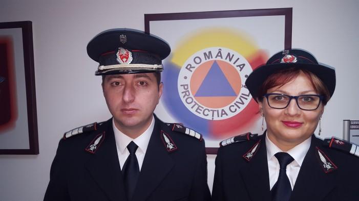 Portrete de salvatori la ISU Neamţ: Irina Popa şi Adrian Rotaru!