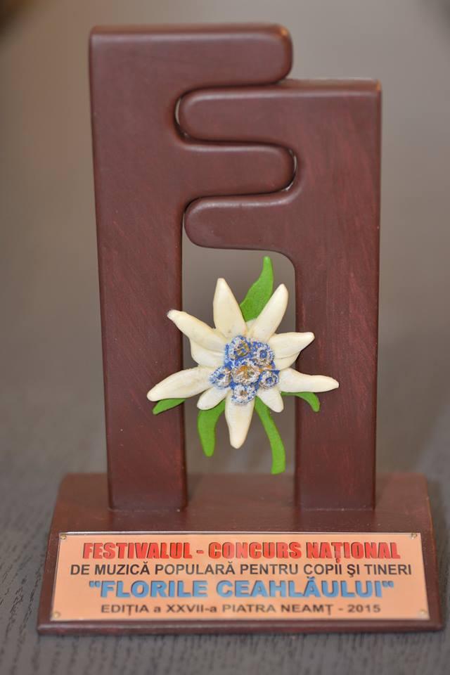 """Premiile Festivalului-concurs """"FLORILE CEAHLĂULUI"""""""