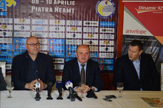 Finalele Cupei României la volei feminin şi masculin au loc la Piatra Neamţ