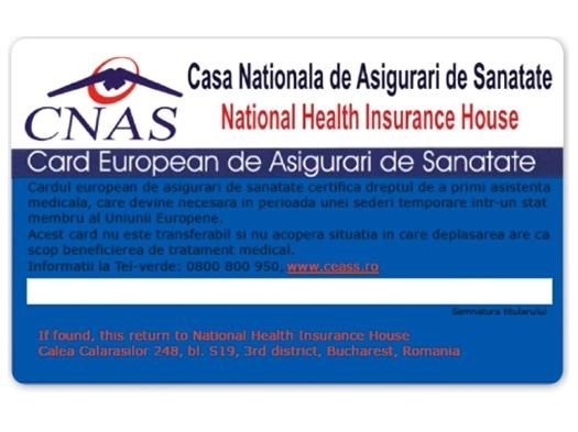 Cum poate fi eliberat Cardul european de asigurări de sănătate!
