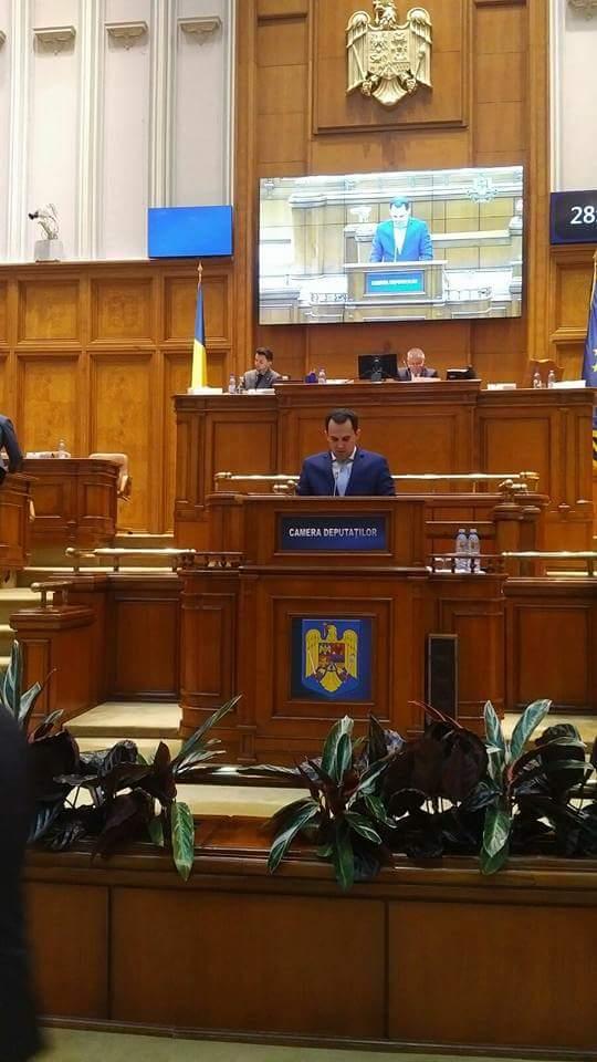 """Deputatul PSD Ciprian Şerban, după depunerea jurământului în Parlament: """"Proiectele mele îi vizează pe toți nemțenii"""""""