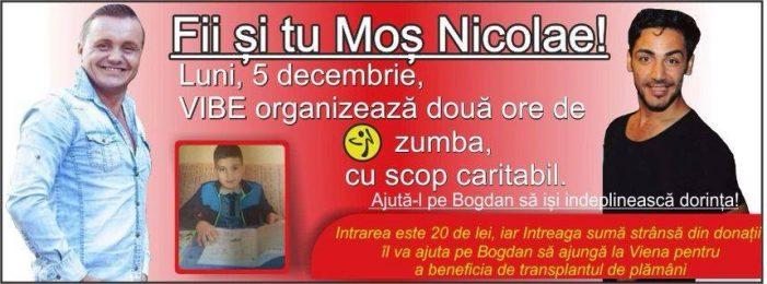 Dansăm pentru Bogdănel! Eveniment caritabil al VIBE Piatra Neamț pentru un copil ce are nevoie de transplant de plămâni!