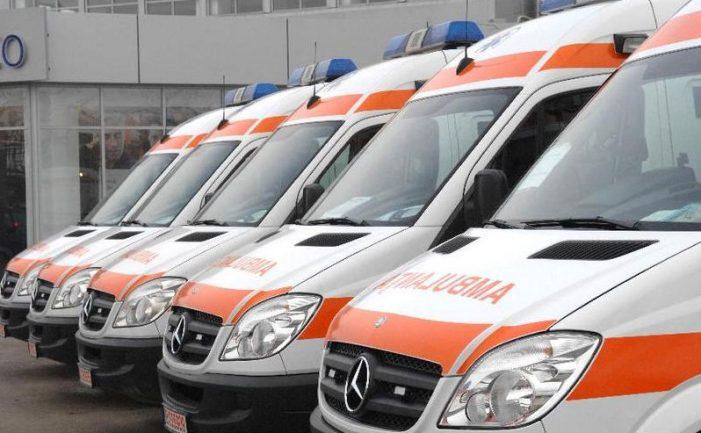 La Serviciul Județean de Ambulanță Neamț, telefonul a sunat fără încetare de sărbători! Morți și răniți în accidente!