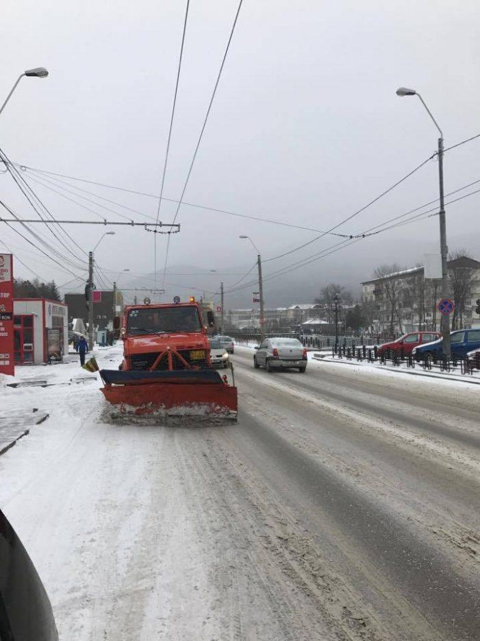 Iată situația luni dimineață pe toate drumurile din județul Neamț! Există 3 sectoare cu restricții!