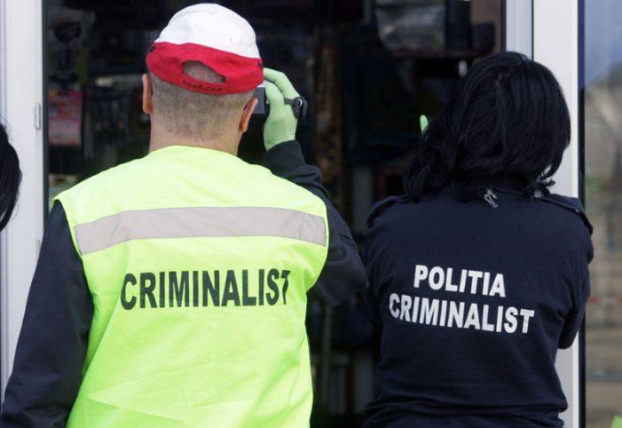 Criminaliștii nemțeni au identificat anul trecut 500 de infractori doar după urme biologice sau amprente