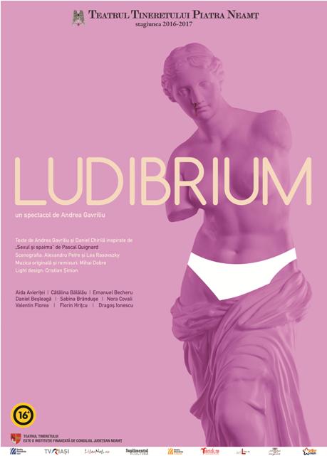 """""""Ludibrium"""" – noua premieră a Teatrului Tineretului din Piatra Neamț"""
