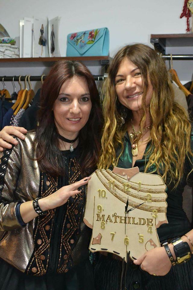"""Mathilde Ghesea: """"În magazinul Atypique am simțit aerul Oana Timofte by Mathilde. Un magazin creativ, cu suflet și bun gust!"""""""