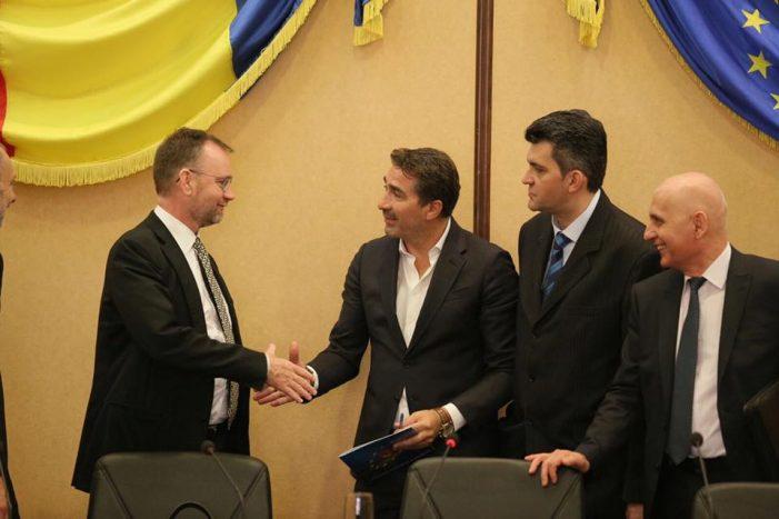 Președintele Consiliului Județean Neamț s-a întâlnit cu șeful Unității pentru România a Comisiei Europene