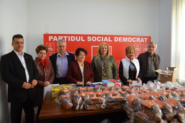 În Joia Mare, acțiune umanitară a PSD Piatra Neamț și a organizației de pensionari social-democrată! (galerie foto – video)