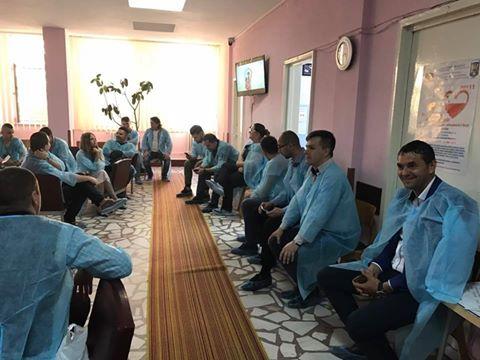 Tinerii social-democrați din Neamț au donat sânge