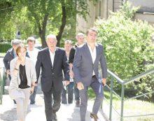 Preşedintele Arsene, vizită inopinată la Pediatria Spitalului Județean Neamț! Ce a găsit aici?