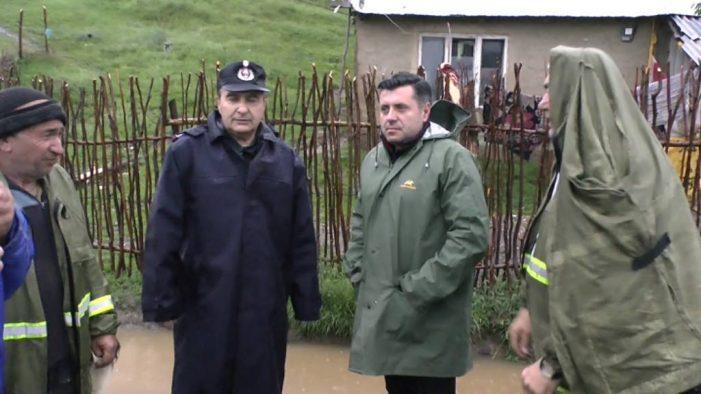 """Viiturile au afectat 65 de gospodării şi 23 localităţi! Prefectul Vasile Panaite: """"Situaţia este sub control dar rămânem vigilenţi!"""""""