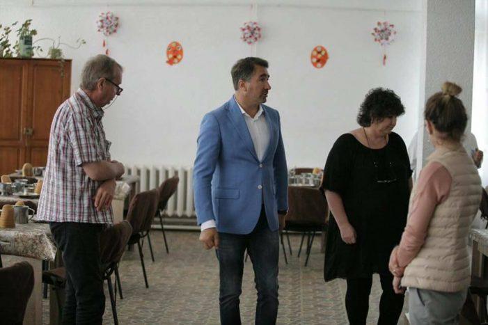 Președintele Arsene, vizită inopinată la centrul de la Războieni