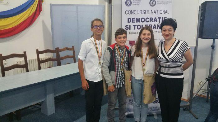 """Concursul Naţional """"Democraţie şi Toleranţă"""", ediţia a XXIII-a, la Seminarul """"Veniamin Costachi"""" Vânători-Neamț"""