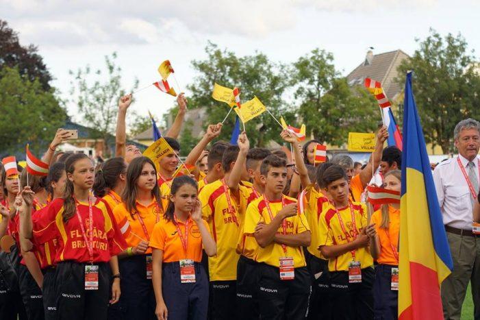 """Copii din Neamț, campioni naţionali din ai Concursului """"Prietenii Pompierilor"""", au reprezentat România în Austria"""