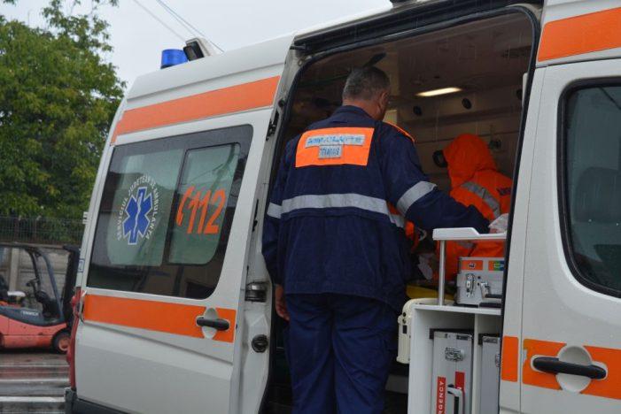 Trei persoane au fost rănite într-un accident la Vaduri