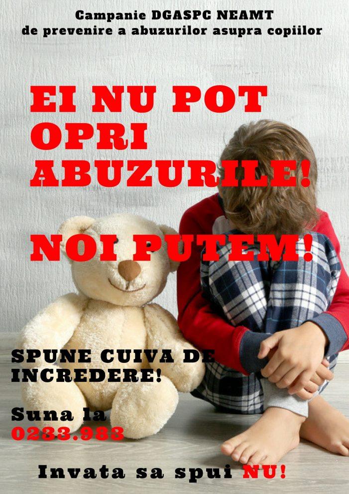 REVOLTĂTOR! Aproape 500 de copii din Neamț, maltratați anul acesta de familie! Știi un asemenea caz? Sună urgent la 0233.983!!!