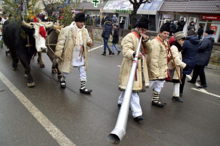 Foto-galerie de la primul Festival de obiceiuri și tradiții de Anul Nou din 2018 (Tîrgu Neamț)