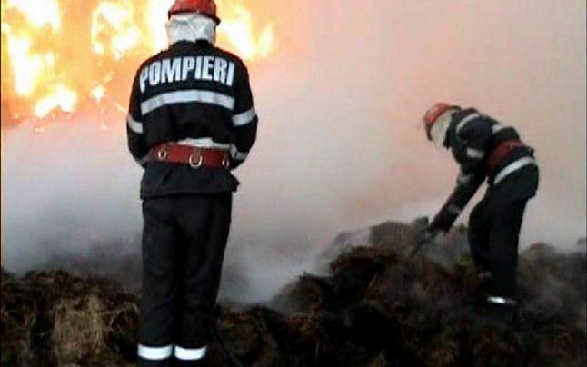 De Revelion a dat foc la 18 tone de furaje la Bodești
